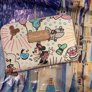 Disney Dooney and Bourke sketch wallet